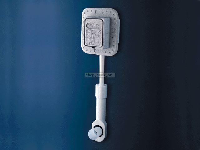 GROHE WC-Druckspüler 37153 Wandeinbau DN20 m. Vorabsperrung ohne Abdeckplatte (37153000)