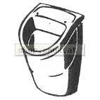 Urinal OMNIA COMPACT 290X490mm (01671WE)