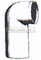 HL 205 PP WC-Anschlussbogen DN 100 weiss (16499904)