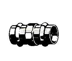 Sanpress-Muffe Rotguss Nr.2215 (3472715)