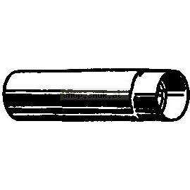 Feueralu. Rauchrohr, Länge 1000 mm (79801310)