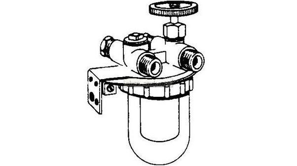 OVENTROP Filtereinsatz für Heizölfilter (95825012)
