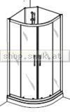 Duscholux Cabinet Komplettdusche Round (DU427201010551)